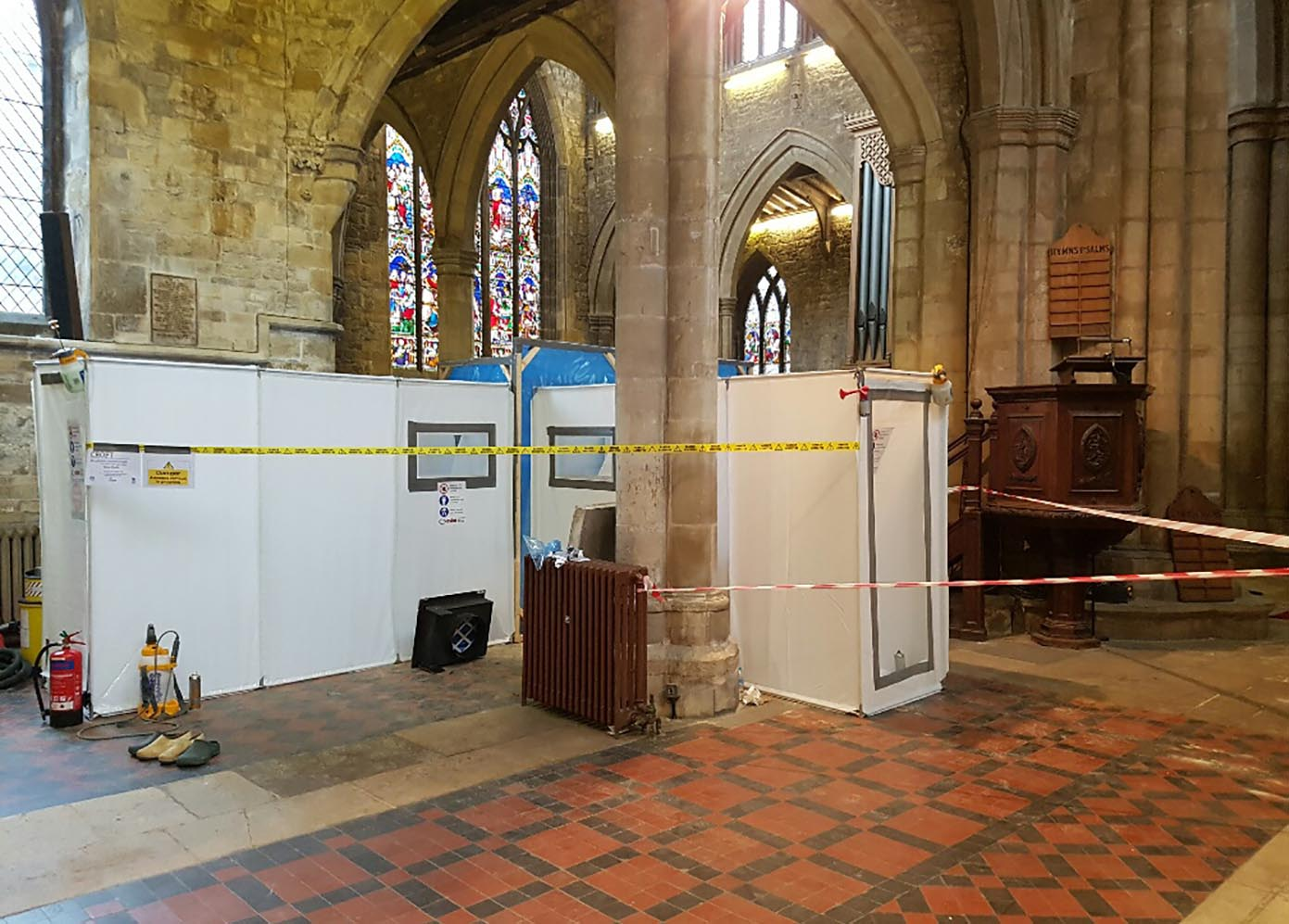 Church Asbestos Removal
