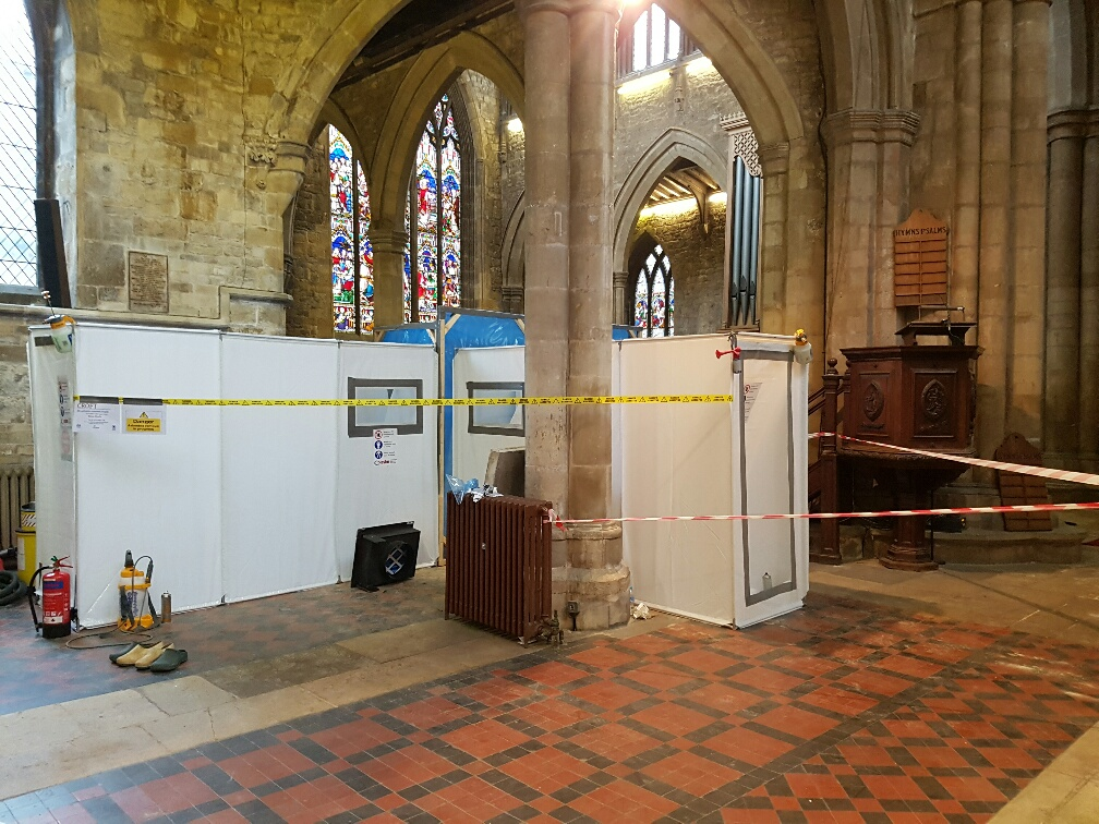 Commercial Asbestos Removal in Church