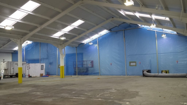 Removal of Warehouse Asbestos