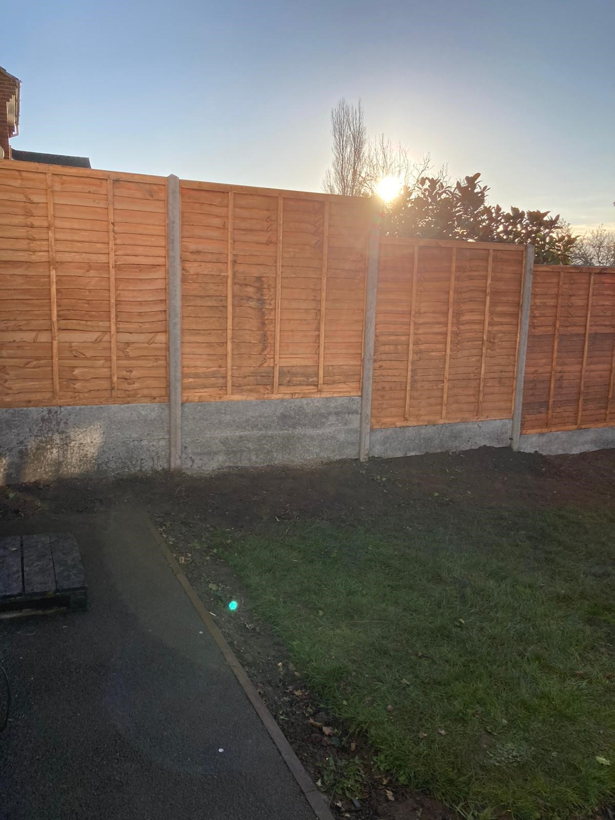 Completed Fencing project